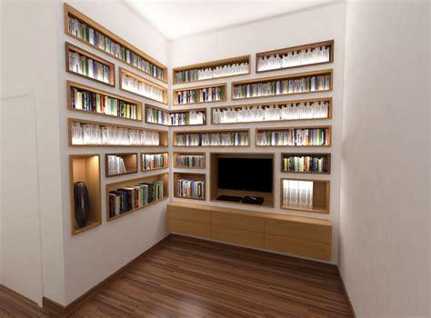 le cuisine led design d 39 une bibliothèque sur mesure par abema