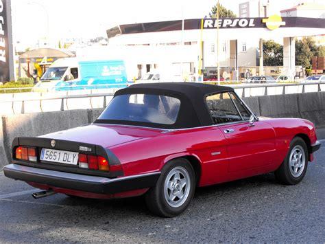 1980 Alfa Romeo Spider  Information And Photos Momentcar