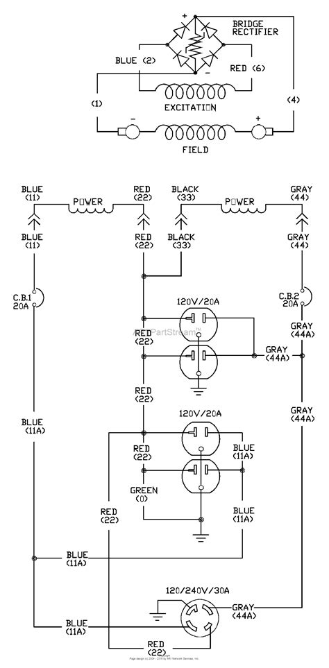 briggs and stratton power products 1646 4 5 550 watt wheelhouse parts diagram for wiring schematic