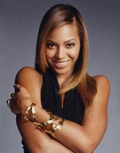 beyonce hair brownish blonde with side part | Style ...