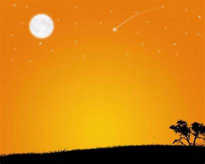 Yellow Dark Orange Sunny Background Celestial Backgrounds