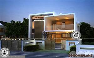 Small Urban House Plans Double Floor New Style Modern Home ...
