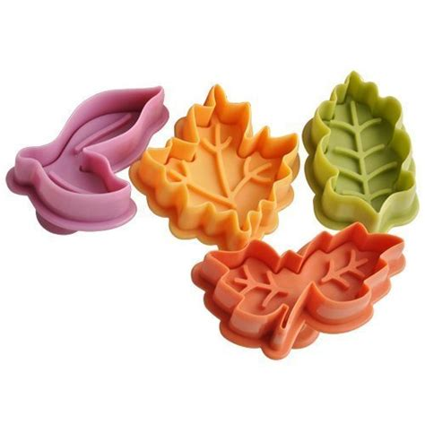 joinor cake leaves baking pie crust cutters set