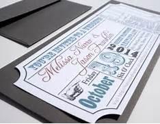 Movie Ticket Wedding Invitation DIGITAL DESIGN By Brighteyedbirdie Wedding Invitations Playbill Vintage Theater Ticket Wedding Invitation Theatre Ticket Wedding Invitation Suite Old By InvitingMoments