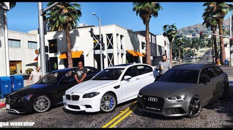 Bmw M5 F10 Vs E63 Amg Vs Audi