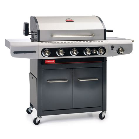 barbecue a gaz plancha barbecook barbecue gaz siesta 612 avec plancha et tournebroche barbecue barbecook sur maginea