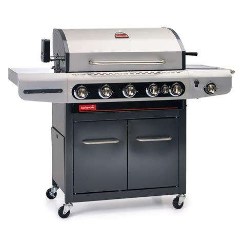 barbecue gaz siesta 612 avec plancha et tournebroche 223 9261 000 achat vente barbecue sur