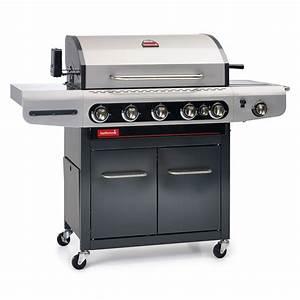 Barbecue Gaz Avec Plancha Et Grill : barbecook barbecue gaz siesta 612 avec plancha et ~ Melissatoandfro.com Idées de Décoration