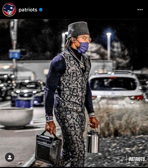 Cam Newton's gameday outfit ahead of Patriots vs. Ravens ...
