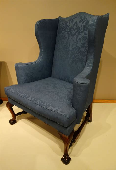 Easy Chair Upholstery by File Easy Chair Probably Boston Massachusetts 1760 1780