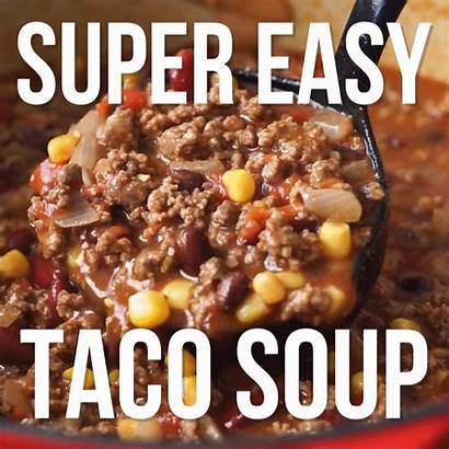 Soup Taco Easy Recipe Quick Chicken Dinner