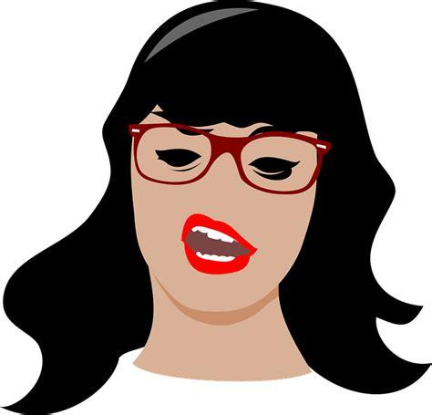 brunette face girl · free vector graphic on pixabay