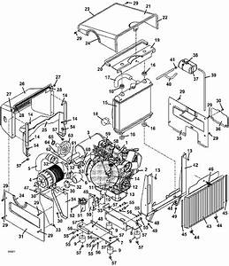 2004 322d Grasshopper Mower Engine Assembly Parts