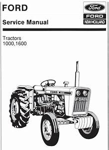 Ford 1000 1600 Tractor Manual Pdf  U2013 Farm Manuals Free