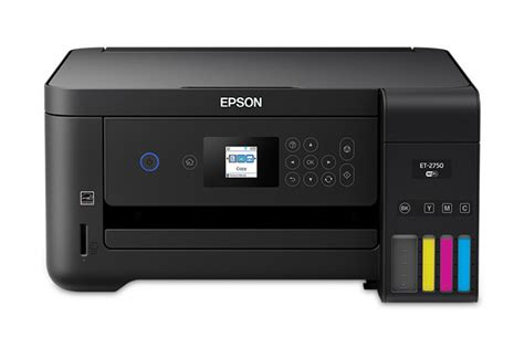 Epson ET-2750 Scanner and Printer Driver Download