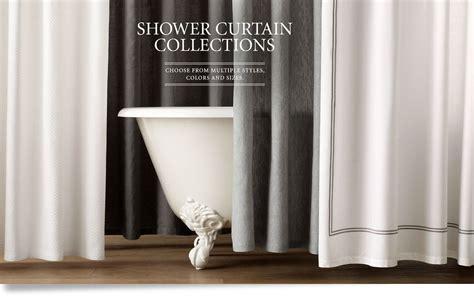 shower curtains restoration hardware