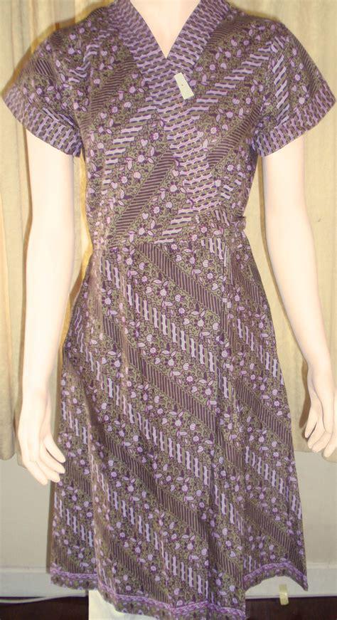 knitting baju batik terbaru