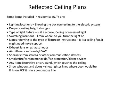 Connecting Ceiling Light by Reflected Ceiling Plan Rcp