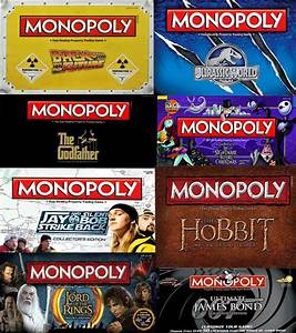 Versions Of Monopoly You Won U0026 39 T Believe Exist - Part I