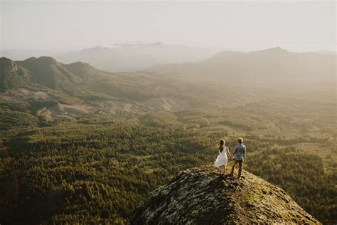 mountain top engagement marita  mark