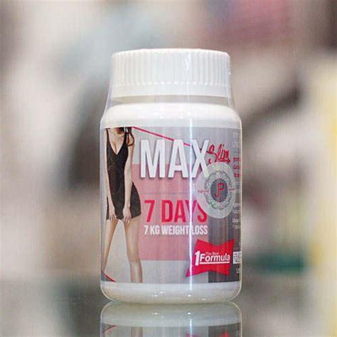 jual max slim  days kg weight loss  lapak
