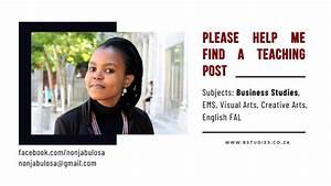 Qualified Business Studies Teacher