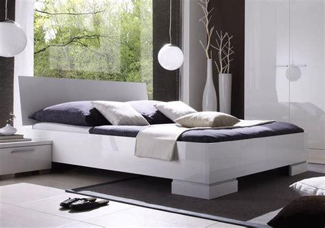lit adulte blanc laqu 233