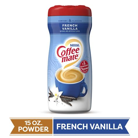 Internet explorer is no longer supported by coffee mate®. COFFEE MATE French Vanilla Powder Coffee Creamer 15 Oz ...