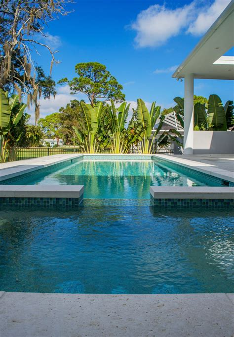 Modern — Sekas Custom Pools   Custom pools, Backyard pool ...