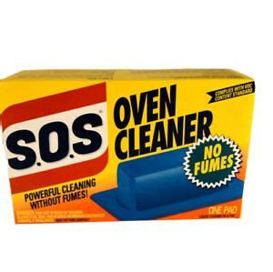 SOS Oven Cleaner Pad - New/Sealed NOS - One Pad S.O.S ...