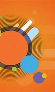 Orange Circle Abstract Background - Free psd and graphic ...