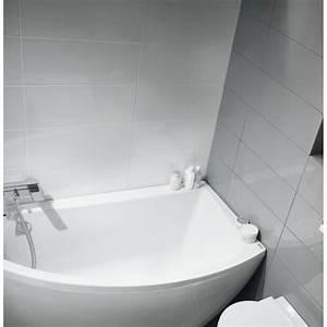 Baignoire D39Angle Gain De Place En Acrylique Au Style Moderne