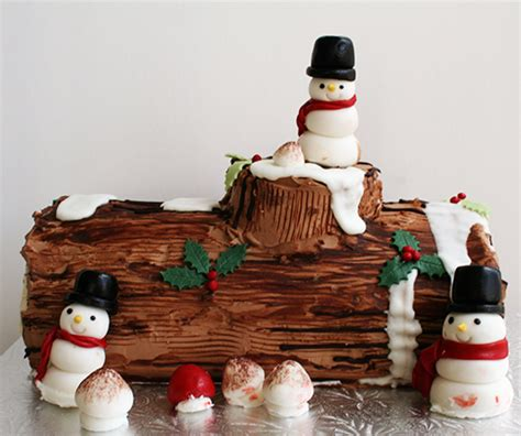 buche de noel decorations things we decorate your own yule log class le dolci