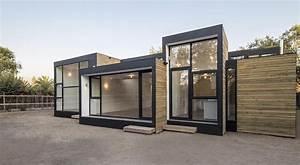 Maison Modulaire Bois : une construction modulaire en bois au design tr ~ Melissatoandfro.com Idées de Décoration
