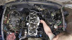 Toyota 22re Cylinder Head Install Time Lapse