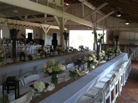 oakwind alvin tx wedding venues wedding table