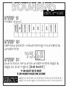 Decimal Anchor Charts Bundle