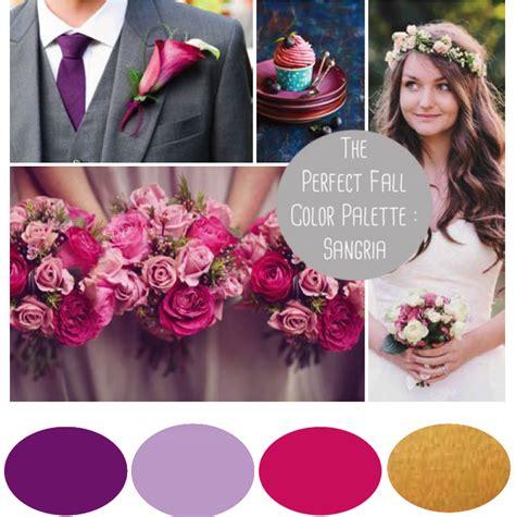 sangria colored wedding decorations