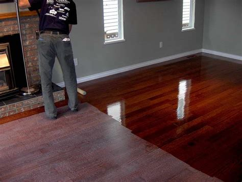 grey walls with cherry floorboards paint colors