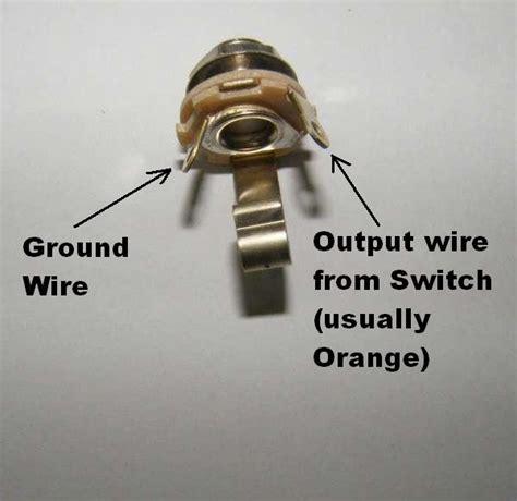 1 4 Input Wiring by Wiring Input Output Jacks General Guitar Gadgets