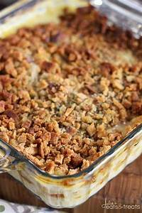 Dump and Go Chicken and Stuffing Casserole