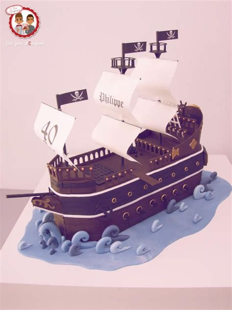 decoration gateau bateau pirate boat cake cakes cake decorating daily inspiration ideas pirate