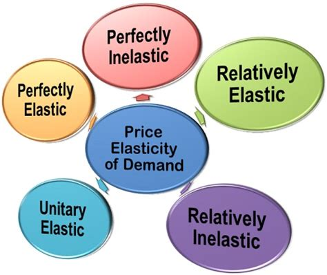 commodity type business what are the types of price elasticity of demand