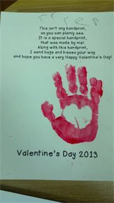 heart handprint poem valentines day poems valentine