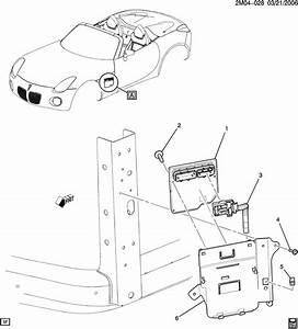 Pontiac Solstice Module  Transmission Control Module