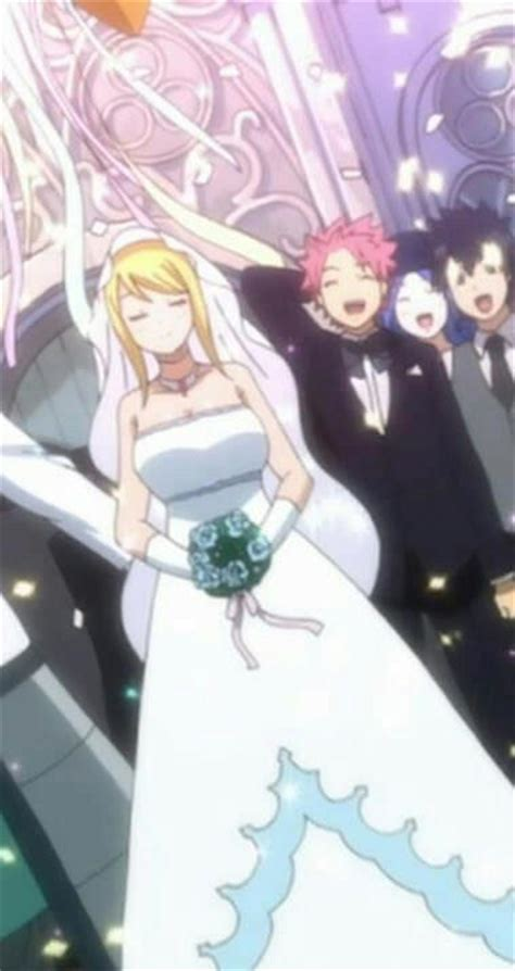 Natsu And Lucy Wedding Day By Melikecan On Deviantart