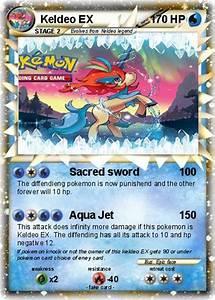 Pokémon Keldeo EX 23 23 - Sacred sword - My Pokemon Card