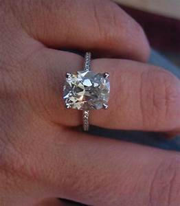 real ritani engagement rings 3 carat cushion cut diamond With 3 carat wedding ring