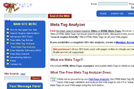 seo optimization checker 20 helpful meta tag analyzer tools blueblots