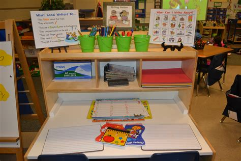 Going To Nursery Book by A Kindergarten Writing Center In Action Scholastic Com
